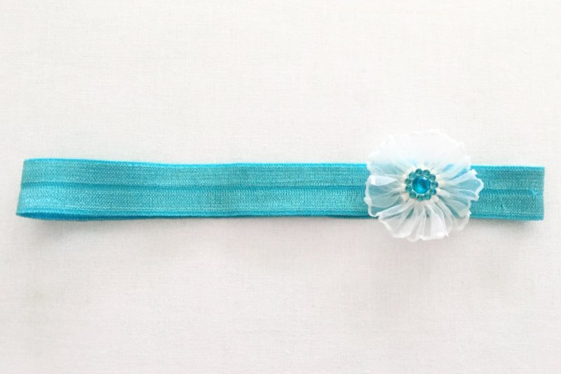 Stirnband Taufe Haarband handmade | e-shop Miracles