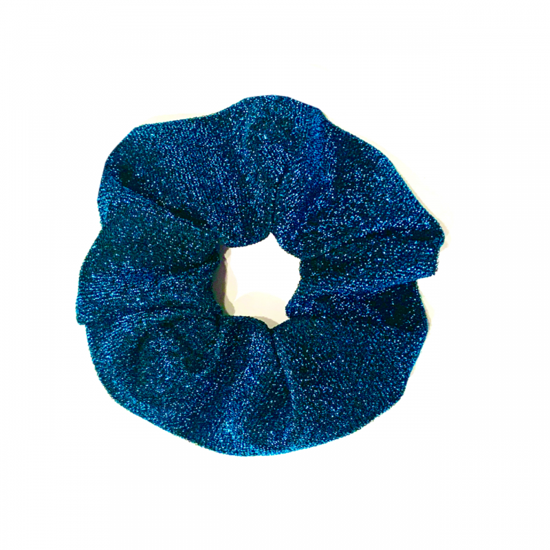 DARK TEAL Scrunchie